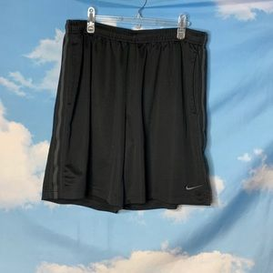 Nike- Black Athletic Shorts size XXL